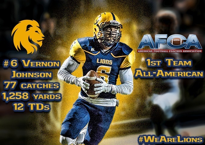Vernon Johnson All-American