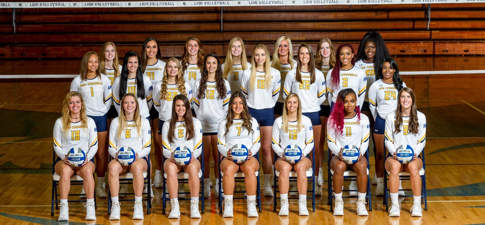 2017 Volleyball Roster Texas A M University Commerce Athletics