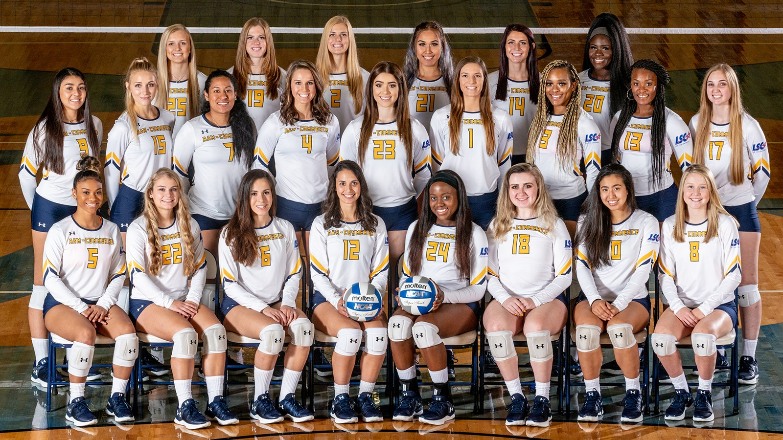 2018 Volleyball Roster Texas A M University Commerce Athletics
