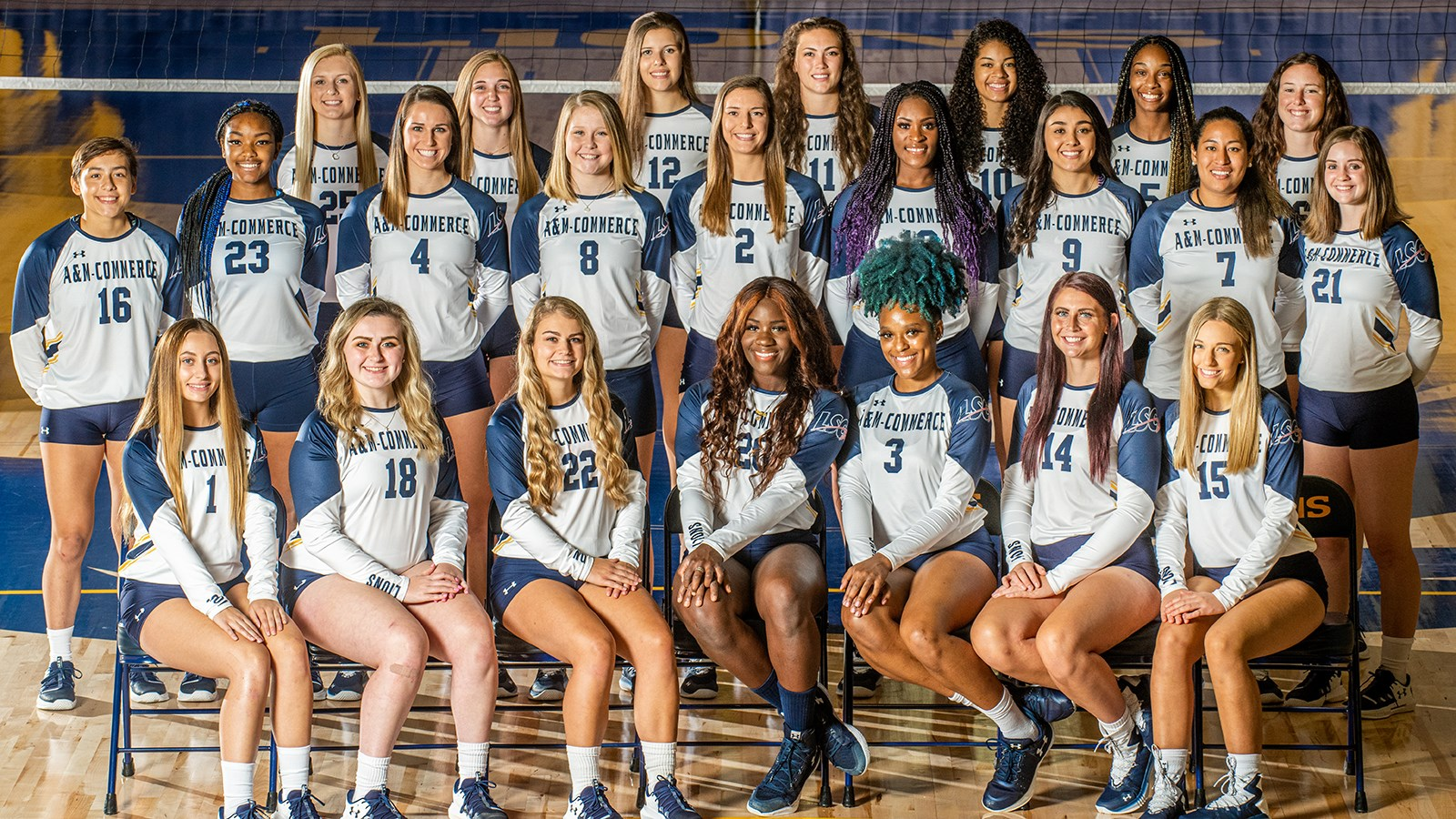 2019 Volleyball Roster Texas A M University Commerce Athletics